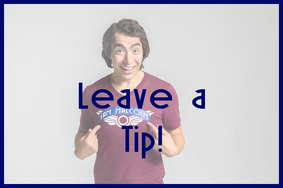 Leave a Tip Sam Malcolm Comedy Juggling