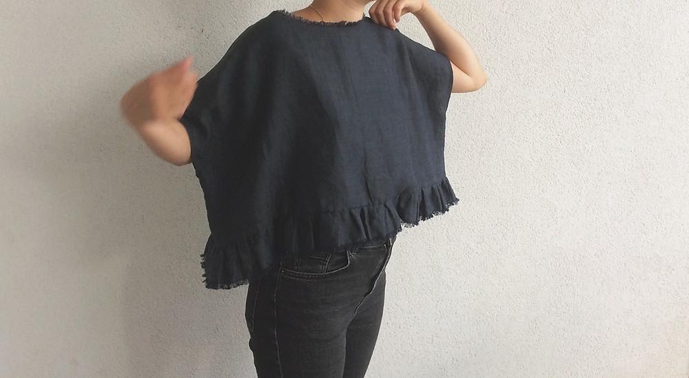 tuto couture top kimono