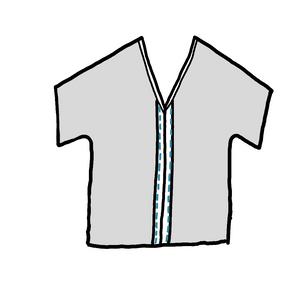 schéma explication patron gratuit couture kimono