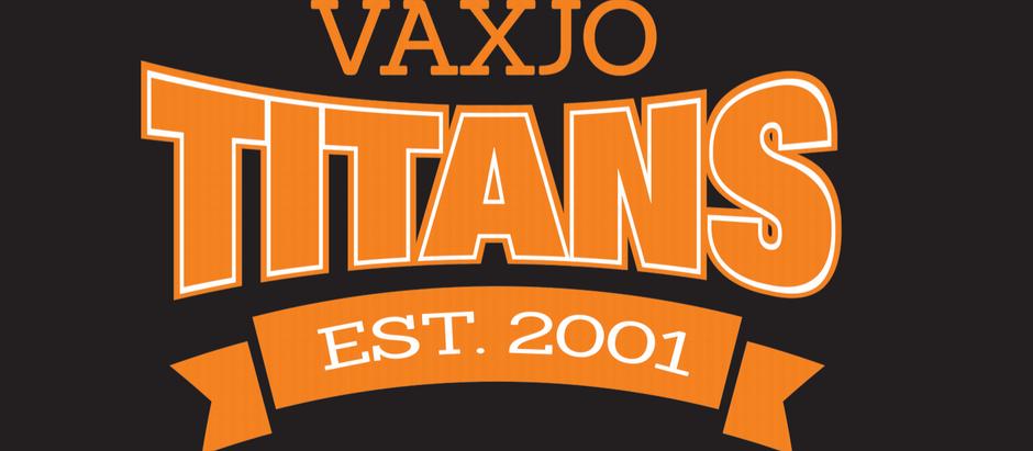 Växjö Titans - arrangörer för svenska mästerskapen i BJJ 2021