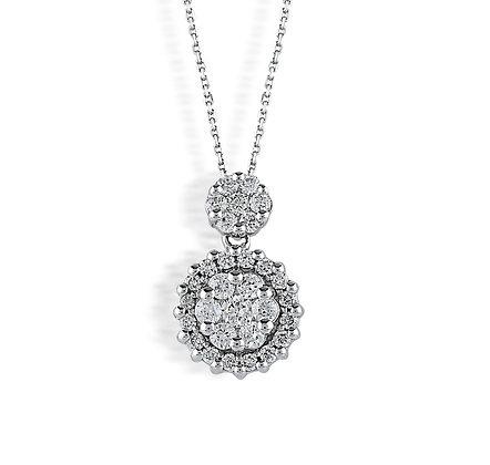 S&A Diamond Pendant