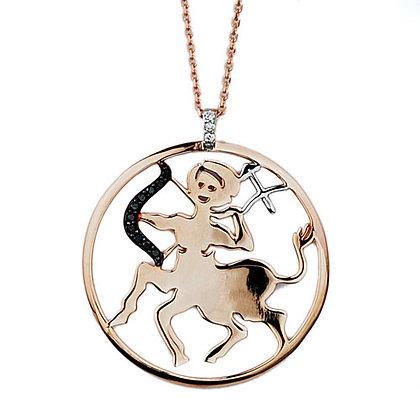 S&A Diamond Pendant - Zodiac Sagittarius