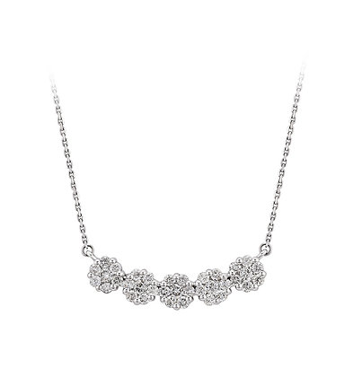 S&A Diamond Necklace