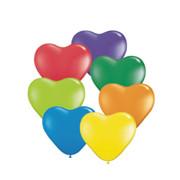 μπαλόνια καρδιές