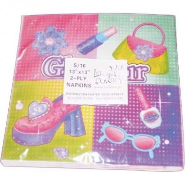 Χαρτοπετσέτες glamour-girl