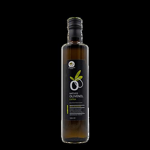 Halkidiki Natives Olivenöl Extra  0,5 l Flasche