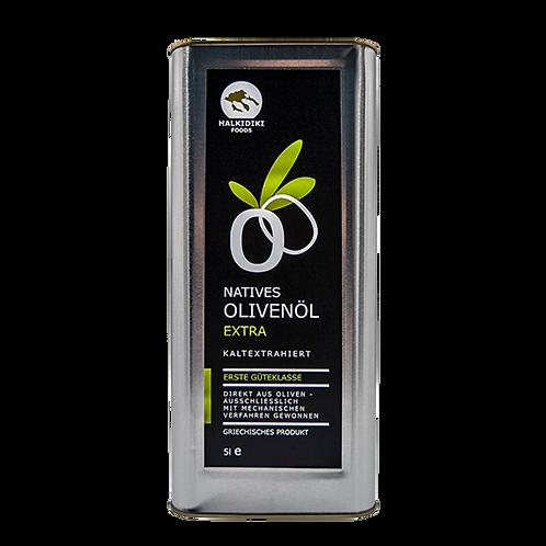 Halkidiki Natives Olivenöl Extra 5 l Kanister