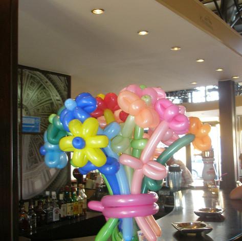Λουλούδάκια απο μπαλόνια