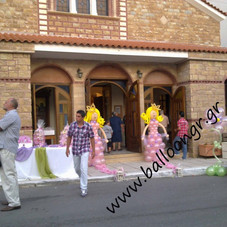 Πριγκίπισσες σε ροζ περλέ και μαργαρίτες
