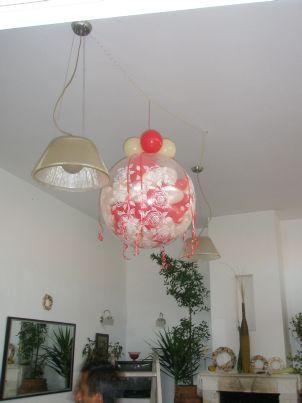 γεμιστό μπαλόνι με αέρα