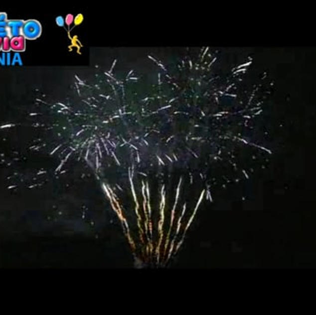 PeacockΠυροτεχνήματα 100 βολών