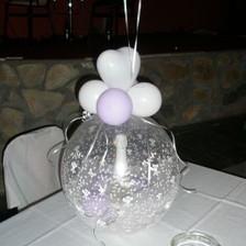 Σαμπάνια μέσα σε μπαλόνι