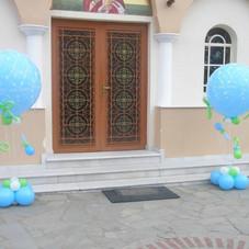 αερόστατα με μικρές πιπίλες