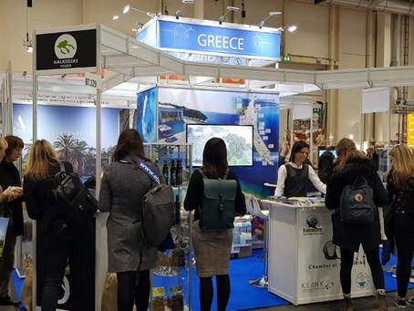 Our Halkidiki Olive Oil at the Hamburg Travel Fair