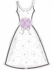 Μπαλόνι γάμου Νυφικό