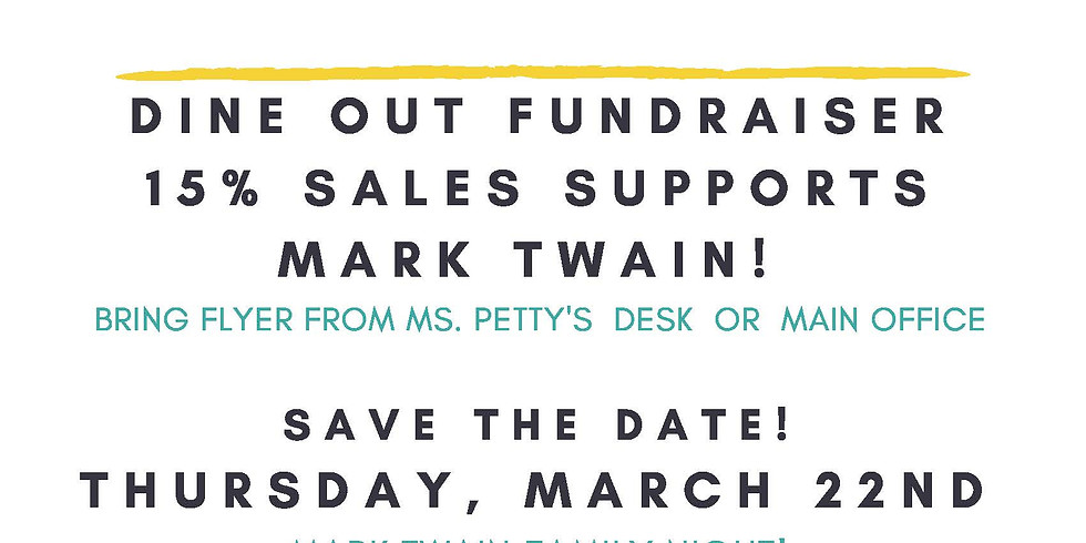 Dine Out Fundraiser