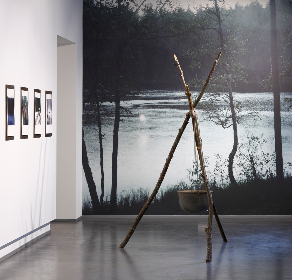 Installation view  Exhibition in the ISSP gallery, Riga. Photo by Ansis Starks.