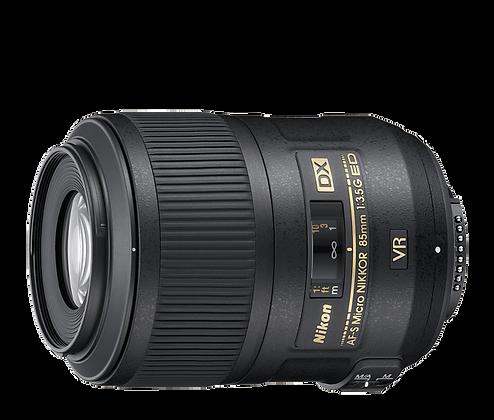 Lente AF-S DX Micro NIkkor 85mm F/3.5G VR