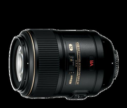 Lente AF - S VR Micro Nikkor 105mm F/2.8G IF-ED