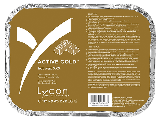 Active Gold Hot Wax-PRO
