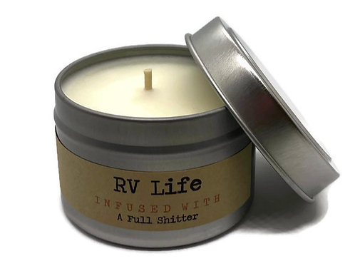 RV Life Travel Tin