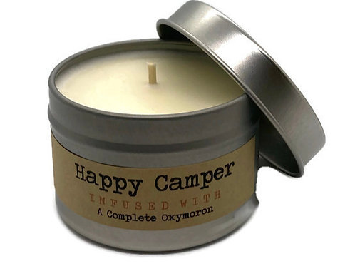 Happy Camper Travel Tin