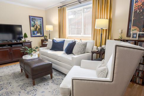 Ethan Allen Bennett Sofa, Parker Chair,