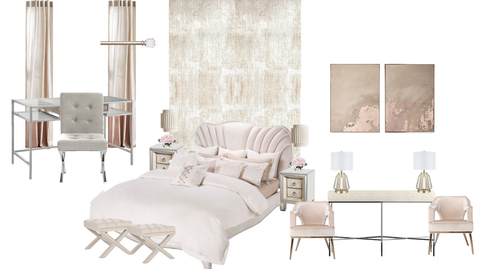 Glam Master Bedroom
