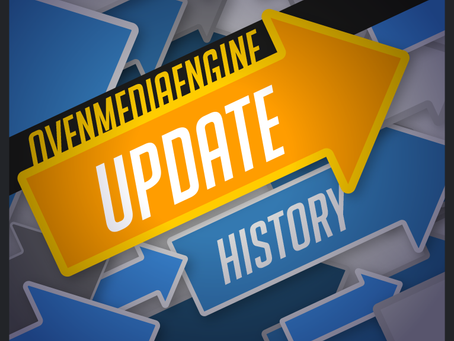 OvenMediaEngine update history after 0.10.0.