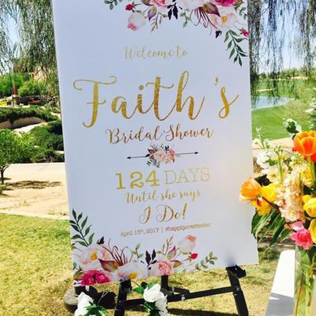 Faith's Garden Bridal Brunch