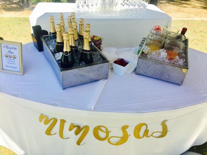 Mimosa table