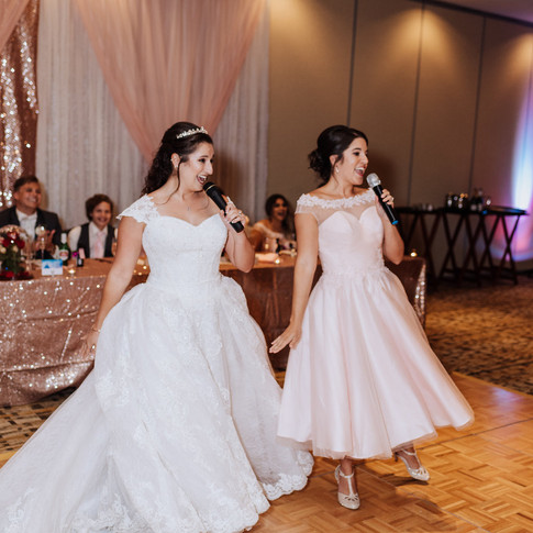 Sisters dance
