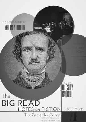 Big Read: Edgar Allan Poe Notes on Fiction Concert