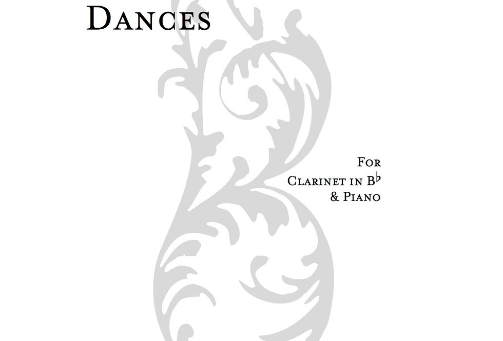 Unintentional Dances for Clarinet & Piano (Digital Only)