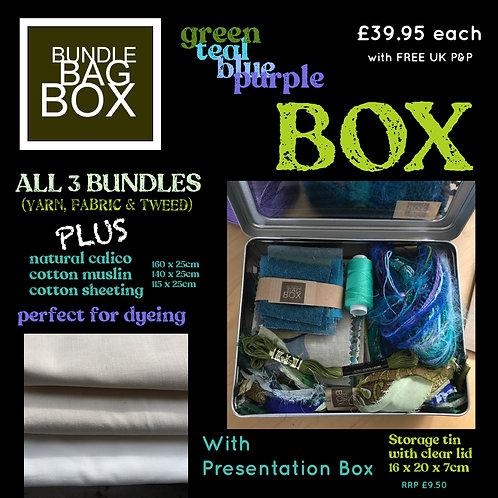 Blue/Green BOX of INSPIRATION