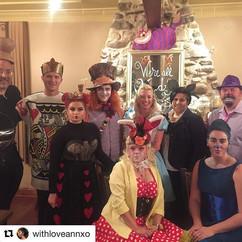 Haunted Vineyard Wine Dinner #Alice in Wonderland