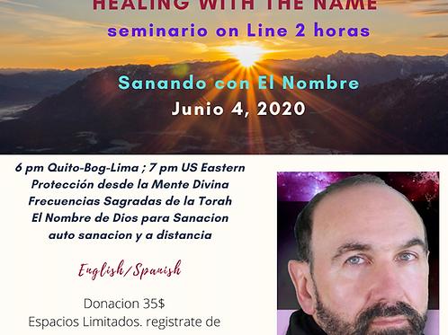 SANANDO CON EL NOMBRE
