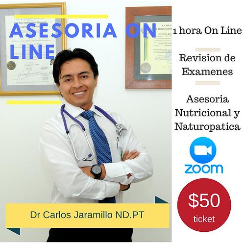 ASESORIA NUTRICIONAL EN LINEA