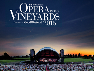 DEBUT at OPERA IN THE VINEYARDS This October at THE ROCHE ESTATE
