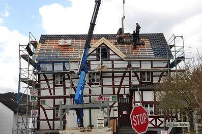 8 Dachstuhl Eeindeckung 26. 3. 2021 (39)