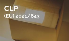 歐盟修正 CLP 指令((EC) 1272/2008)與危害物質相關的一致性分類與標示原則