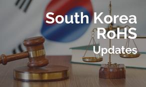 韓國 RoHS 四項鄰苯開始實施