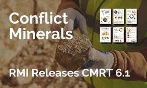 衝突礦產報告模板更新至 CMRT 6.1 版