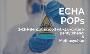 ECHA 公眾諮詢兩種 POPs 物質