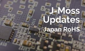 新版J-MOSS (日本RoHS) 發布