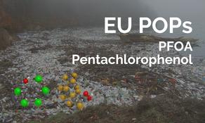 歐盟 POPs 指令更新二項物質的排外使用