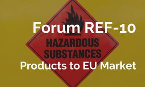 輸歐產品將面臨有害物質專項執法