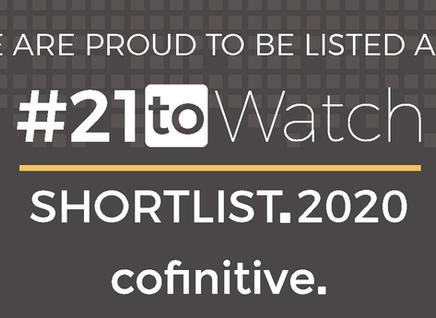 Kalium shortlisted for #21toWatch award