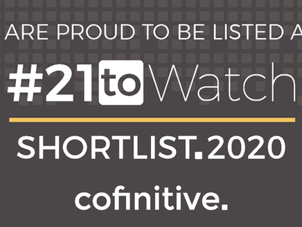 Kalium shortlisted for #21toWatch award
