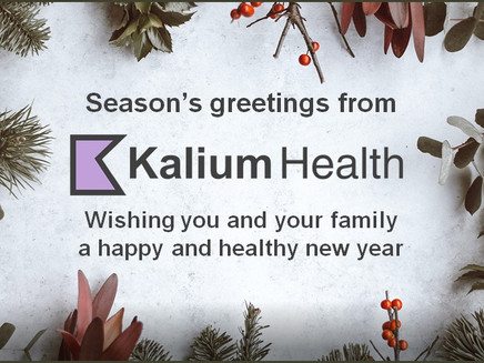Season's greetings from Kalium Health